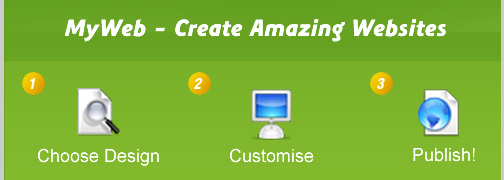 MyWeb Create & Build a Website