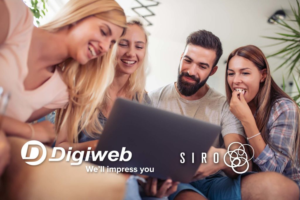 Digiweb Gigabit Broadband powered by SIRO